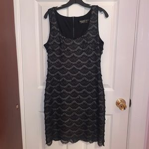Guess - Black and Silver Dress